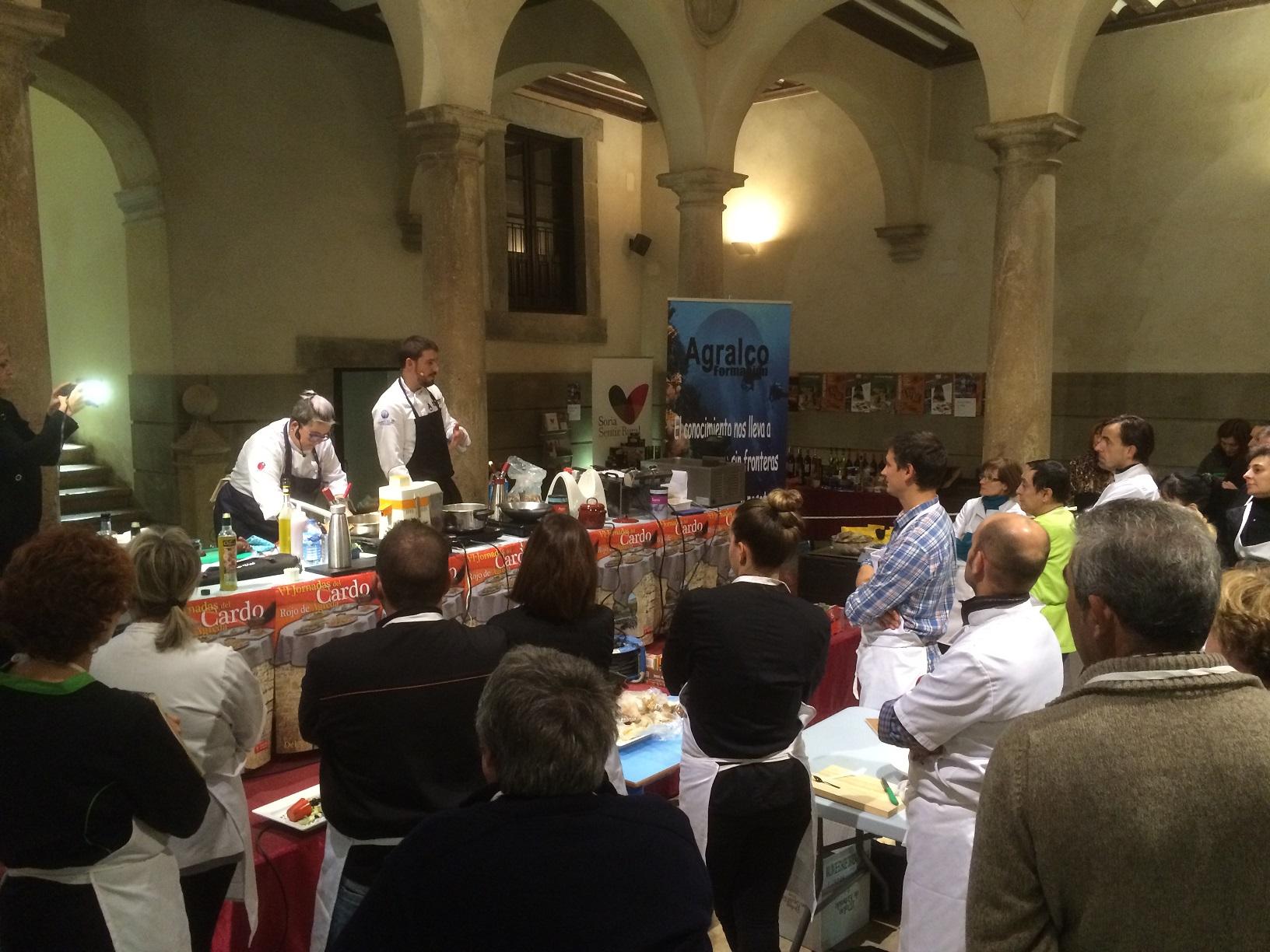 Javier Estevez cocina Agralco Formacion