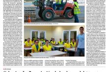 Artículo en el Diario de Soria